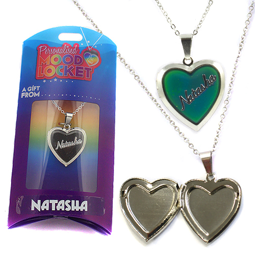 Personalised Mood Locket: Natasha