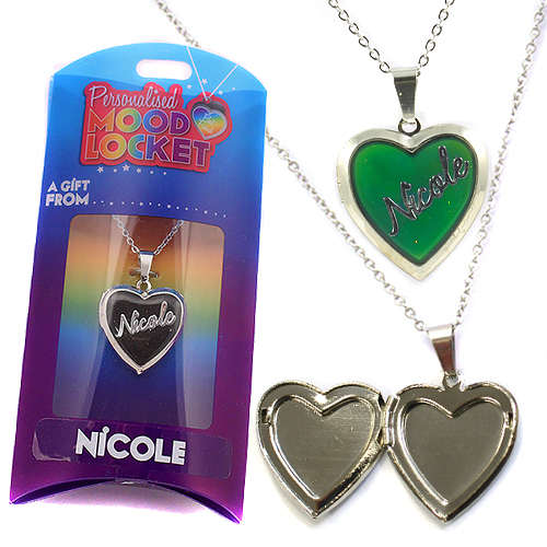 Personalised Mood Locket: Nicole