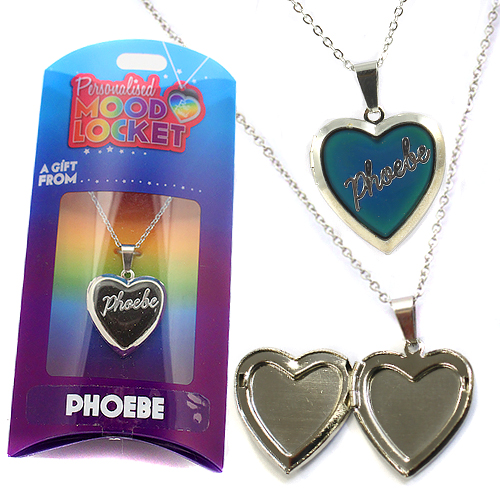 Personalised Mood Locket: Phoebe