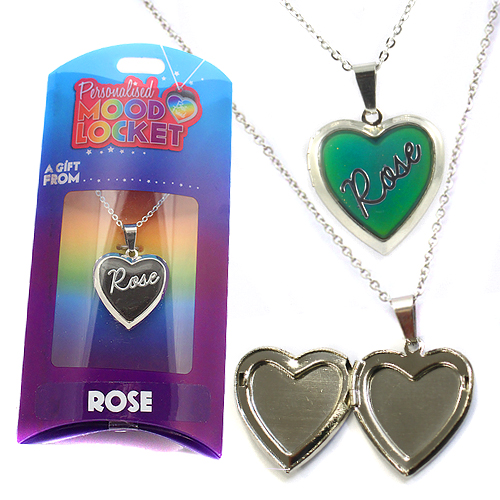 Personalised Mood Locket: Rose