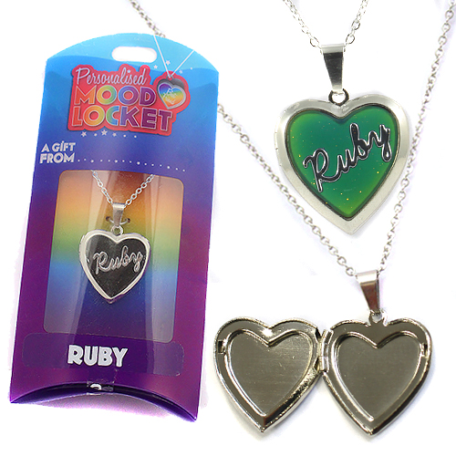 Personalised Mood Locket: Ruby