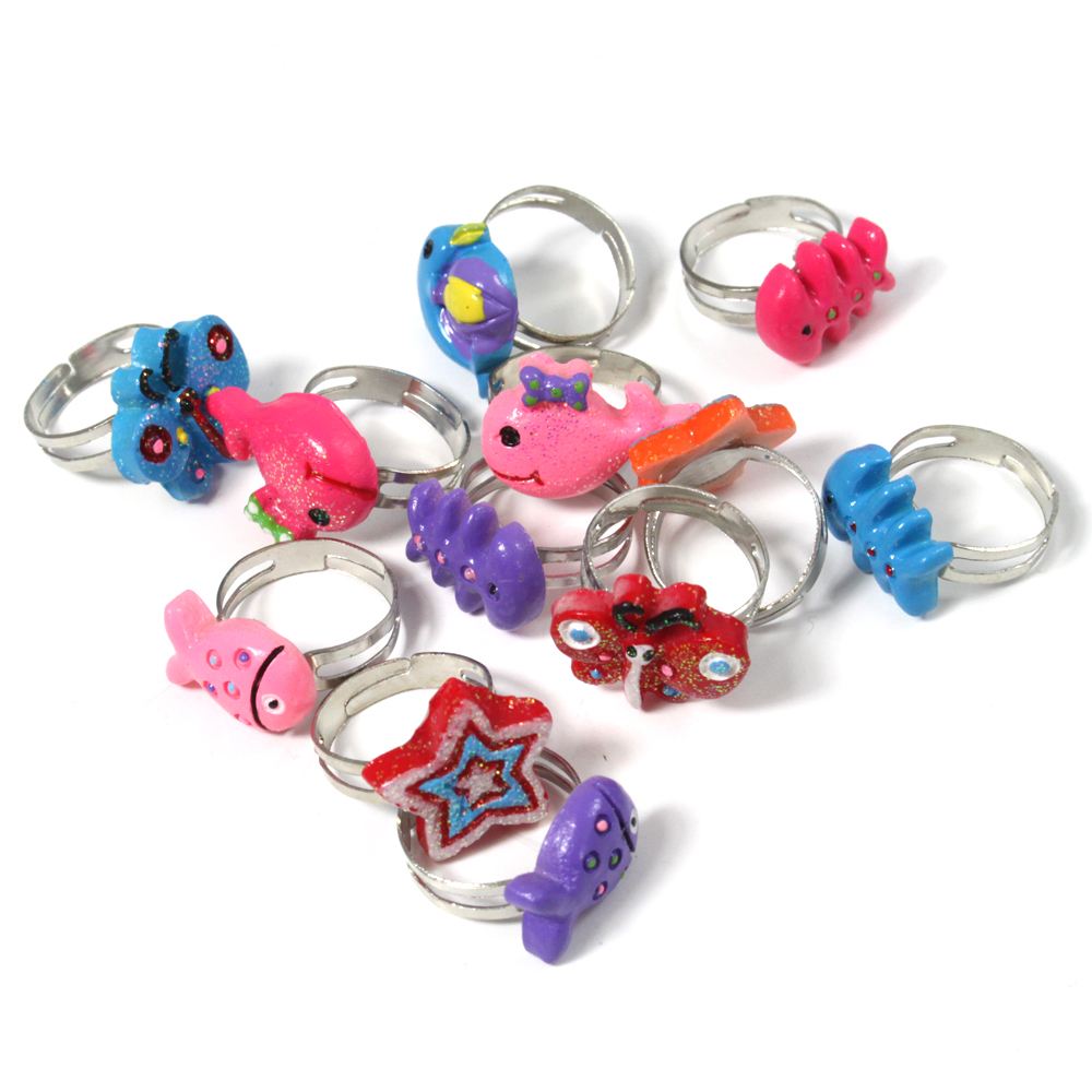 12 x Children\'s Party Bag Filler Rings