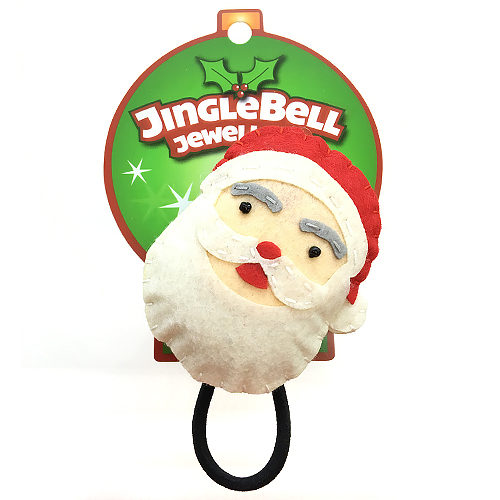Christmas Santa Hair Bobble Accessory