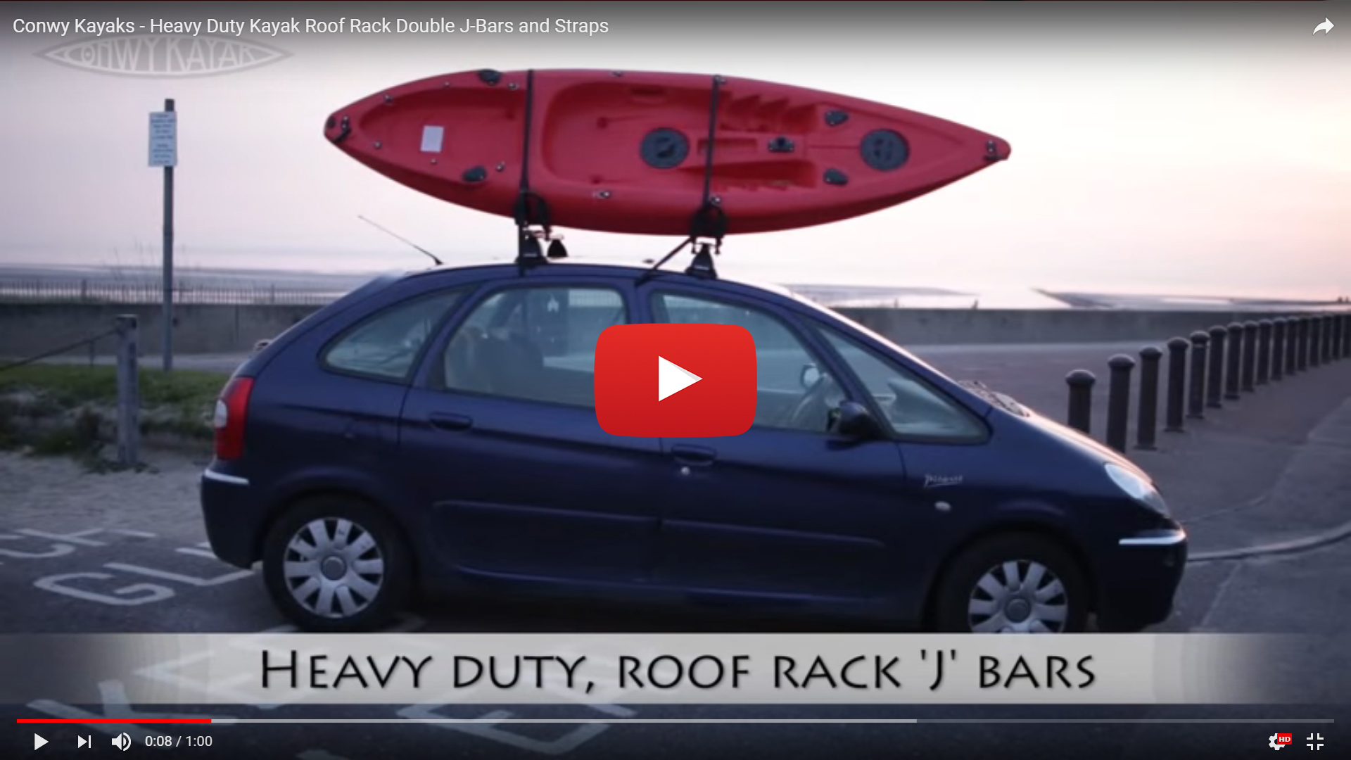 car racks roof hilux safely rack blog racing kayak toyota securing rhino to on a